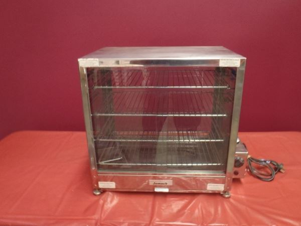 Food Warmer, glass doors