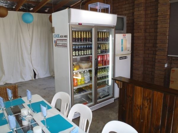 Upright Fridge for Hire